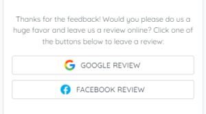 Ask Customers for Reviews