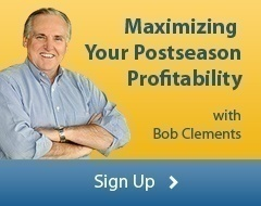 Maximizing Your Postseason Profitability - sign up