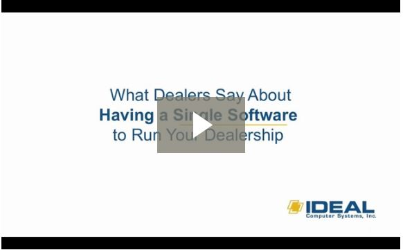 See what dealers say about having a single software to run your dealership