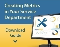 Guide: Metrics for Service Department